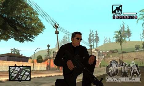 C-HUD by Miller for GTA San Andreas forth screenshot