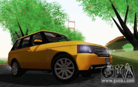 Range Rover Supercharged Series III for GTA San Andreas