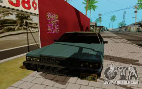 Emperor GTA 5 for GTA San Andreas left view
