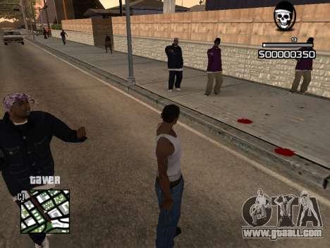 C-HUD By Kapo for GTA San Andreas second screenshot