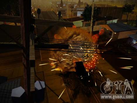 ENBSeries for weak PC by Makar_SmW86 for GTA San Andreas fifth screenshot