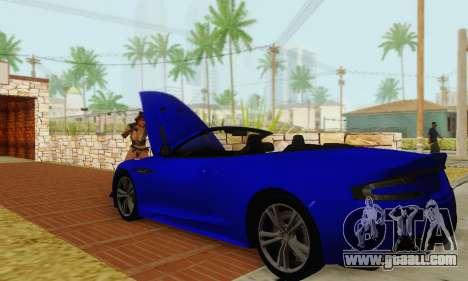 Aston Martin DBS Volante for GTA San Andreas side view