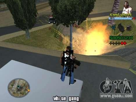 C-HUD Snow White for GTA San Andreas third screenshot