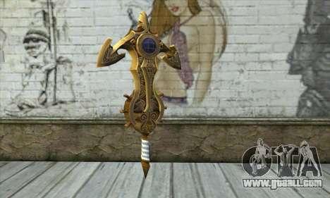 Dragon Nest Warrior Marine Sword for GTA San Andreas