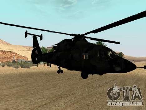 KA-60 for GTA San Andreas side view