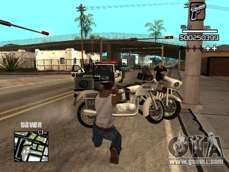 C-HUD By Kapo for GTA San Andreas seventh screenshot