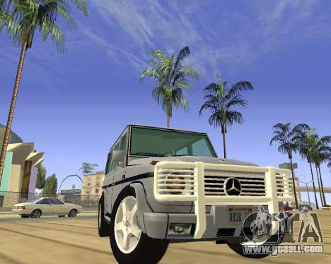 Mercedes-Benz G500 Brabus for GTA San Andreas right view