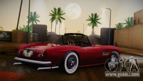 BMW 507 1959 Stock for GTA San Andreas left view