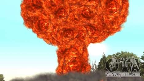 Nuclear strike for GTA San Andreas