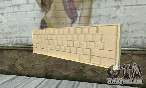 Tastatur Waffe for GTA San Andreas
