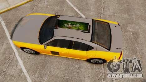 Bravado Buffalo Taxi for GTA 4 right view