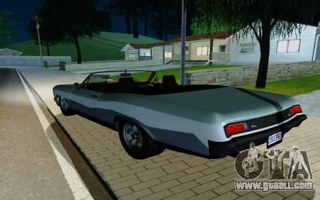 Albany Buccaneer из GTA 5 for GTA San Andreas left view