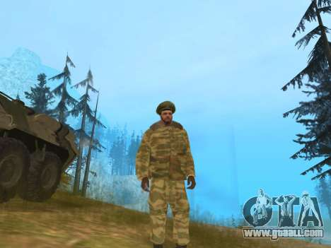 Pak Russian army service for GTA San Andreas second screenshot