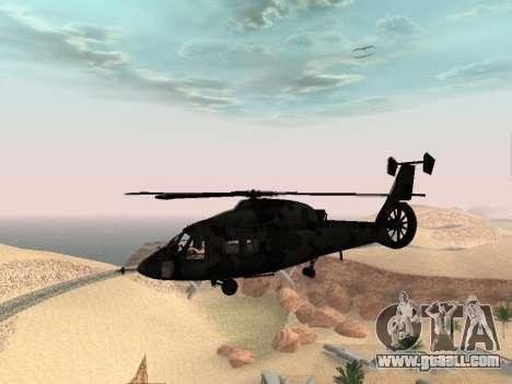 KA-60 for GTA San Andreas back view