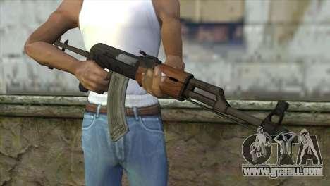 AKM Assault Rifle for GTA San Andreas third screenshot