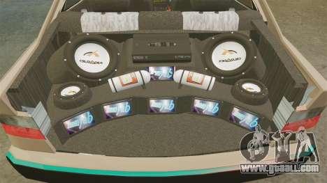 Citroen Xantia for GTA 4 side view