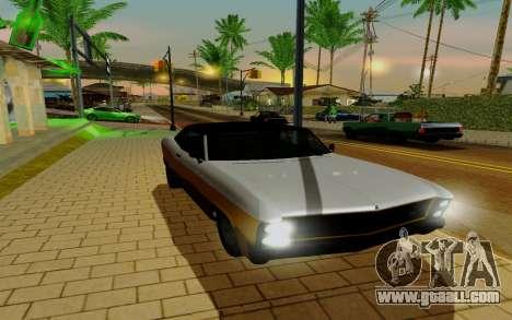 Albany Buccaneer из GTA 5 for GTA San Andreas right view