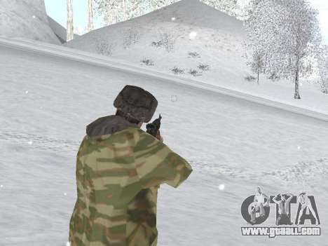 Pak Russian army service for GTA San Andreas sixth screenshot