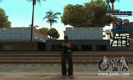 C-HUD One Of The Legends Ghetto for GTA San Andreas