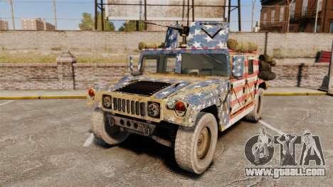 HMMWV M1114 Freedom for GTA 4