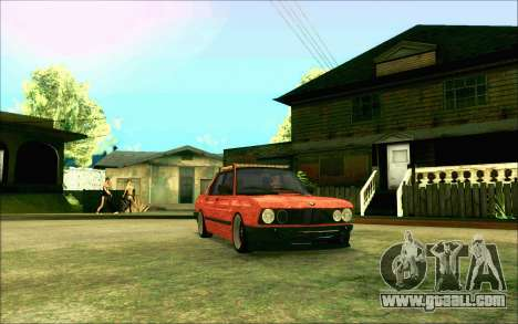 BMW M5 E28 RatStyle for GTA San Andreas back view