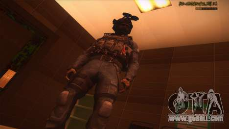 Sgt Keegan P.Russ из Call Of Duty: Ghosts for GTA San Andreas ninth screenshot