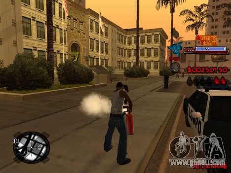 C-HUD Admins Team for GTA San Andreas ninth screenshot