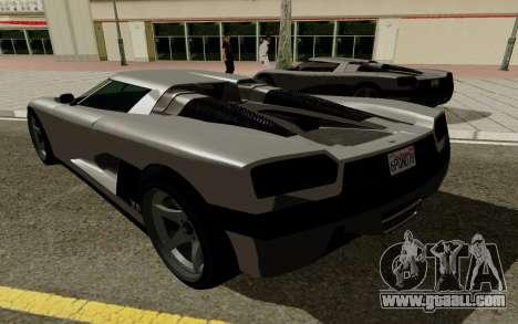 GTA 5 Overflod Entity XF for GTA San Andreas right view