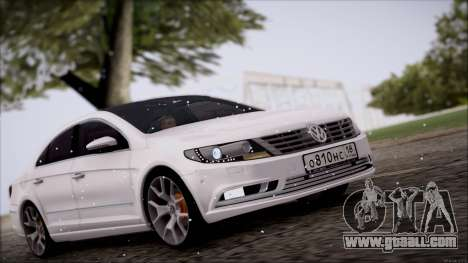 Volkswagen Passat CC for GTA San Andreas left view