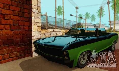 Gta 5 Buccaneer updated for GTA San Andreas