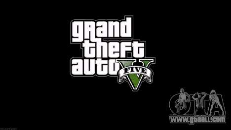 The loading screens style GTA 5 for GTA San Andreas