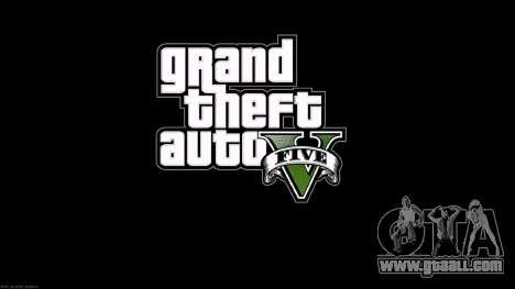 The loading screens style GTA 5 for GTA San Andreas