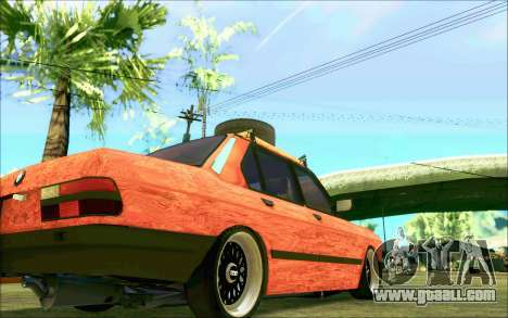 BMW M5 E28 RatStyle for GTA San Andreas side view