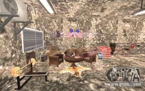 The basement of the house Carl for GTA San Andreas third screenshot