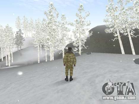 Pak Russian army service for GTA San Andreas forth screenshot