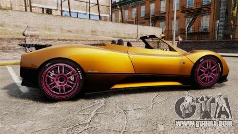 Pagani Zonda C12 S Roadster 2001 PJ2 for GTA 4 left view
