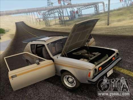AMC Gremlin X 1973 for GTA San Andreas back view