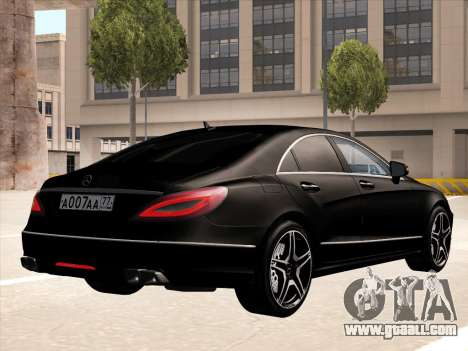 Mercedes-Benz CLS350 2012 for GTA San Andreas right view