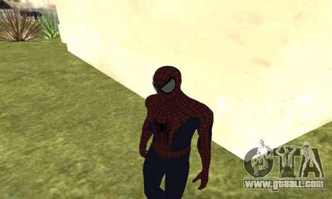 The new spider-man for GTA San Andreas forth screenshot