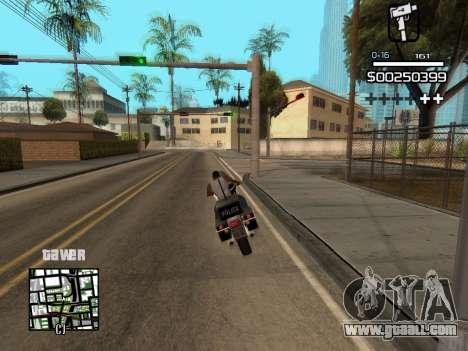 C-HUD By Kapo for GTA San Andreas sixth screenshot