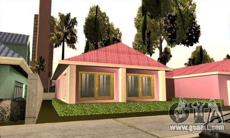 New house Milli for GTA San Andreas third screenshot