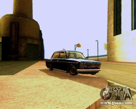 VAZ 2103 Tuneable for GTA San Andreas upper view