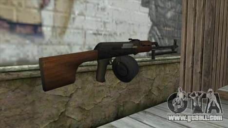 RPK Machine Gun for GTA San Andreas second screenshot
