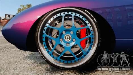 Shelby Cobra Daytona Coupe for GTA 4 back view