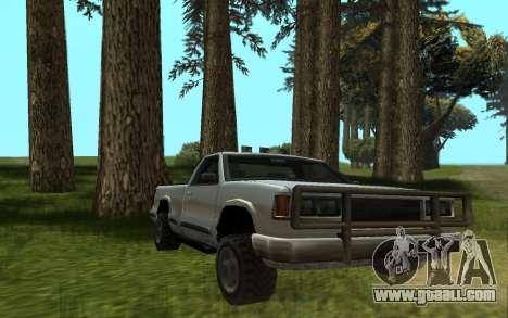 Yosemite Hunter for GTA San Andreas back left view