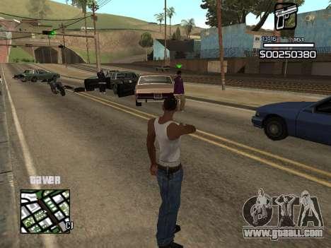 C-HUD By Kapo for GTA San Andreas third screenshot