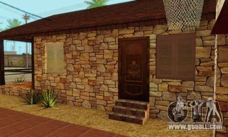 New house big Smoke for GTA San Andreas sixth screenshot