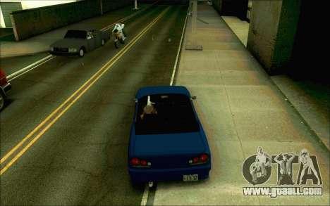 Elegy Tokyo Convertible for GTA San Andreas back left view