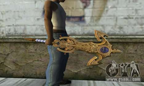 Dragon Nest Warrior Marine Sword for GTA San Andreas second screenshot