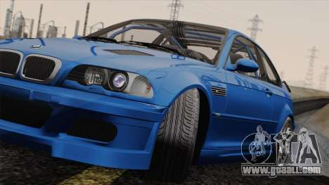BMW M3 E46 GTR 2005 for GTA San Andreas back left view